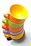 Cups tower