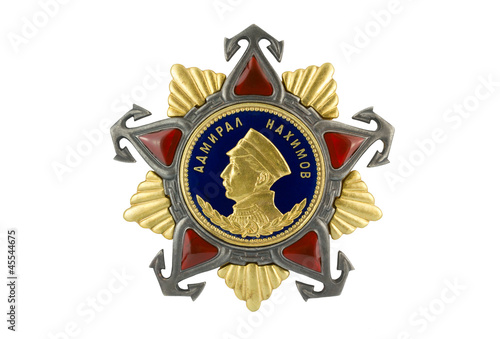 Admiral Nakhimov Order of I degree.