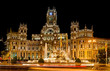 Plaza Cibeles, Madrid, Spain - at night