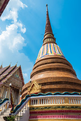 Wat Phra That Chedi of Khonkaen Thailand
