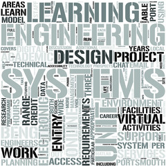 Electronic SystemsEngineering2yrDL Word Cloud Concept