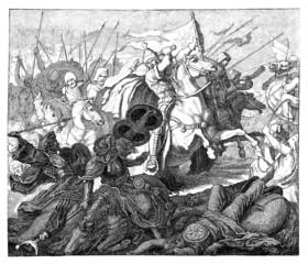 Battle 8th century - Christians vs. Arabians