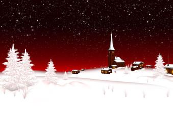 Weihnachten, Winter, Hintergrund, Vorlage, Schneelandschaft, Eis