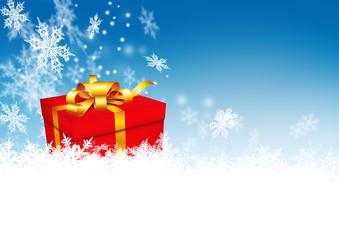 Weihnachtsgeschenk, Weihnachten, Geschenk, Winter, Schnee, Eis