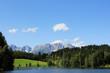 Kitzbühel, Schwarzsee im Sommer