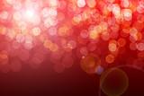 Fototapety Red defocused lights background