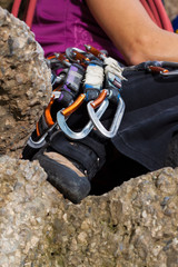 Equipment for climbing