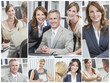 Men & Women, Businessmen, Businesswomen in Office