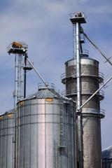Grain Elevator and Silos