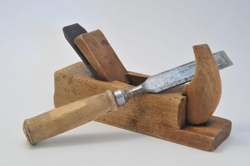 Altes Werkzeug, Hobel