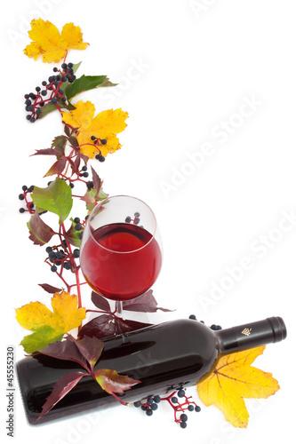 Wein - 003 - Rotwein - Rahmen