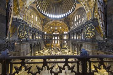 Hagia Sophia in Istanbul ,Turkey