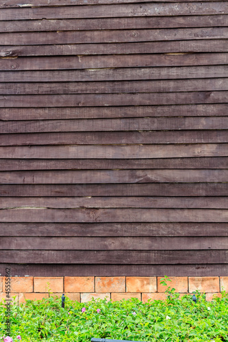 Old Wooden Wall Texture.