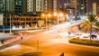 Dubai Cross traffic Timelapse
