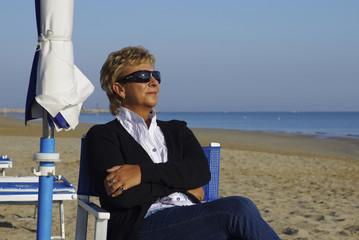 Ruhe und Entspannung am Strand von Pesaro - Markens
