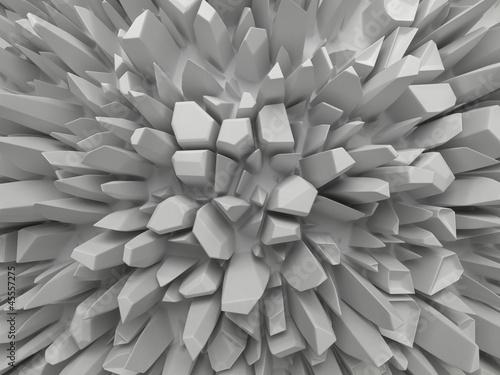 abstrakcyjne-biale-tlo-z-fasetowanymi