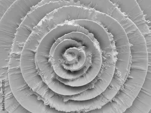 Fototapeta abstract white radial background