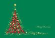 Tannenbaum aus Christbaumkugeln
