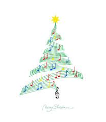 """""""O Tannenbaum""""  Weihnachtskarte"""