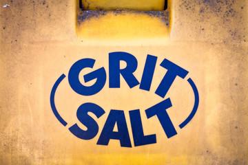 Gritting salt
