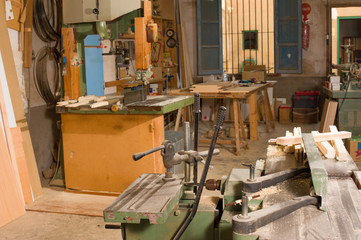 Carpenter workshop