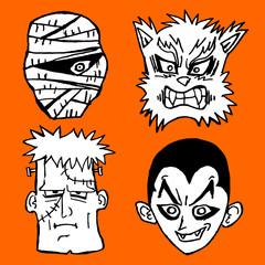 Terror mask halloween