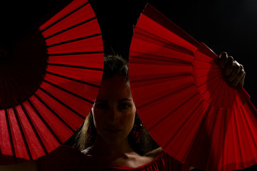 Sensual flamenco
