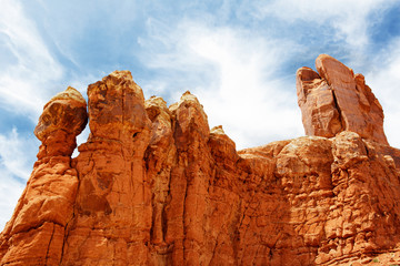 Red Rock Formations sky A