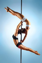 Pole dance Frauen