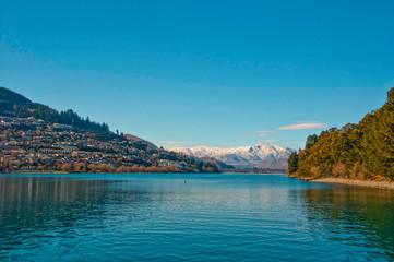 Lake Wakatipu - New Zealand - Onboard cruise