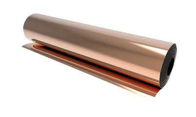 Roll of copper foil