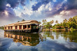 House boat in backwaters - 45561458