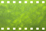 Green nature film strip  for adv or others purpose use