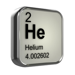 3d Periodic Table - 2 Helium