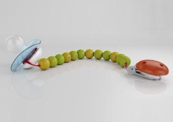 Schnullerkette soother chain