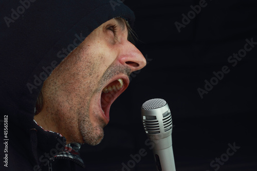 Rockstar singing
