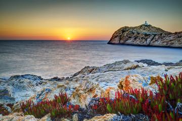 Crépuscule à l'Île-Rousse - Haute-Corse