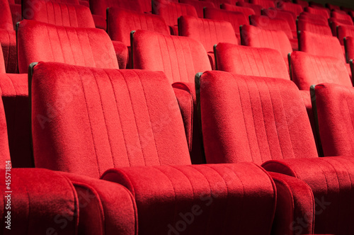 red seats - 45571814