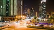 Traffic Timelapse from Amwaj 4K