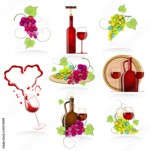 Design elements of the icon wines
