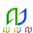 A. J. Company Logo