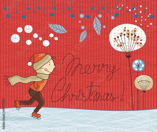 Seasonal illustration