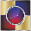 Vector metallic abstract background
