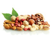 Assortment Of Tasty Nuts With ...