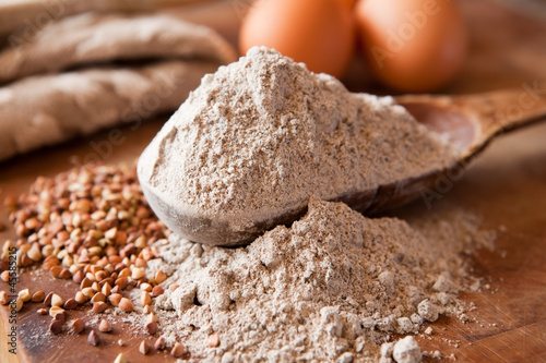 Buckwheat flour - 45585215
