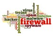 Firewall concept in tag cloud