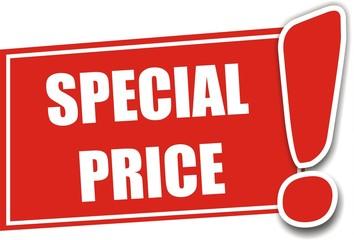 étiquette special price