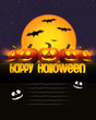 Halloween Party Design Template - Happy Halloween