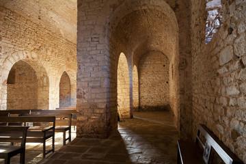 Romanesque monastery