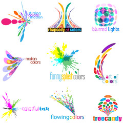 color concept icon set